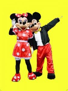corporeo minni y michey mouse